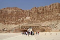 Templo de Hatshepsut Imagenes de archivo