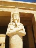 Templo de Hatshepsut - detalhe Fotografia de Stock Royalty Free