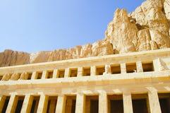 Templo de Hatshepsut - Luxor - Egito imagem de stock royalty free