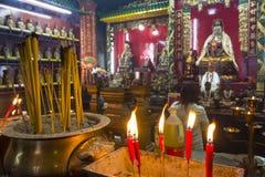 Templo de Hau de la cosa en Hong Kong Fotografía de archivo libre de regalías