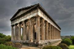 Templo de Hefaistos, Atenas Foto de archivo libre de regalías