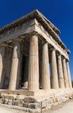 Templo de Hephaestus Foto de Stock Royalty Free