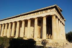 Templo de Hephaestus Imagen de archivo