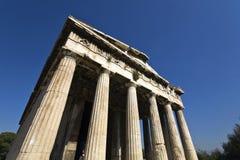 Templo de Hephaestus em Atenas, Greece Imagens de Stock Royalty Free