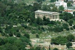 Templo de Hephaisteion en Atenas Foto de archivo libre de regalías