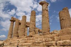 Templo de Hera Imagen de archivo libre de regalías