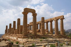 Templo de Hera Foto de archivo libre de regalías