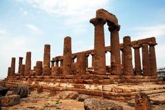Templo de Hera Imágenes de archivo libres de regalías