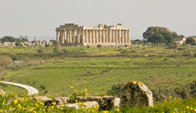 Templo de Hera Fotos de archivo libres de regalías