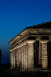 Templo de Hera II, Paestum Imagem de Stock Royalty Free