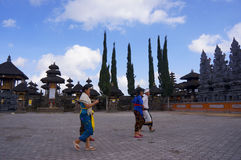 Templo de Hindus Foto de archivo