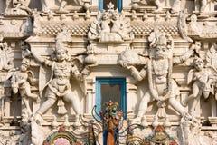 Templo de Hindus, Pushkar, Rajasthán, la India. Fotos de archivo