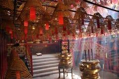 Templo de Hong-Kong Fotografía de archivo
