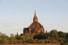 Templo de Htilominlo, Bagan Fotografía de archivo libre de regalías