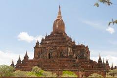 Templo de Htilominlo, Bagan Imagen de archivo