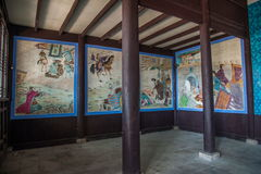 Templo de Hubei Yiling Huangling Imagem de Stock Royalty Free