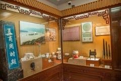 Templo de Hubei Yiling Huangling Imagens de Stock