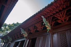 Templo de Hubei Yiling Huangling Fotografia de Stock Royalty Free