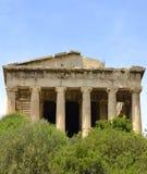 Templo de Hyphaestus Imagen de archivo libre de regalías