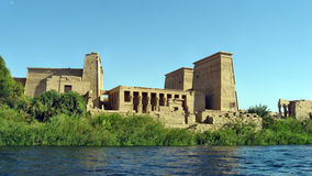Templo de ISIS de la diosa fotos de archivo libres de regalías