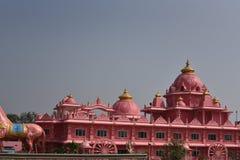 Templo de Iskcon, Anantpur, Andhra Pradesh, Índia Imagem de Stock Royalty Free