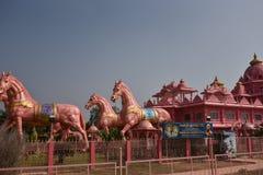 Templo de Iskcon, Anantpur, Andhra Pradesh, Índia imagens de stock royalty free