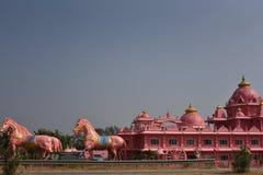 Templo de Iskcon, Anantpur, Andhra Pradesh, Índia Imagem de Stock