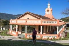 Templo de ISKON Foto de archivo libre de regalías