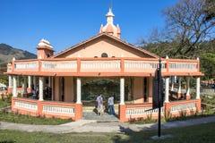 Templo de ISKON imagens de stock royalty free