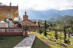 Templo de ISKON Imagem de Stock Royalty Free