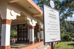 Templo de ISKON Fotos de archivo libres de regalías