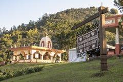 Templo de ISKON Foto de Stock Royalty Free