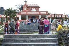 Templo de ISKON Imagenes de archivo