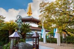 Templo de Isshinji en Osaka Fotografía de archivo libre de regalías