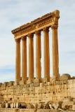 Templo de Júpiter fotografía de archivo libre de regalías