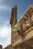 Templo de Júpiter, Baalbek Foto de archivo
