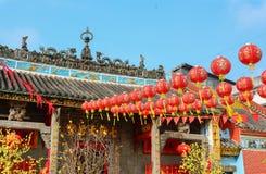 Templo de Jade Emperor no bairro chinês imagem de stock