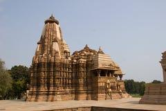Templo de Jagadambi, Khajuraho imagem de stock royalty free
