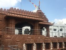 Templo de Jagannath em Hyderabad, Índia Fotografia de Stock