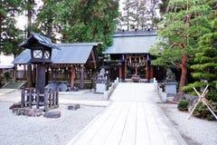 Templo de Japón Foto de archivo libre de regalías