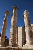 Templo de Jerash Artemis en Jordania Imagen de archivo