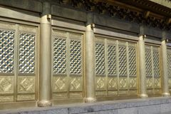 Templo de Jinding de MT Emei Imágenes de archivo libres de regalías