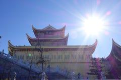 Templo de Jinding de MT Emei Foto de archivo