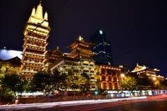 Templo de Jing'an Fotografia de Stock