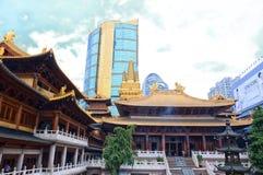 Templo de Jingan Fotografía de archivo libre de regalías