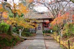 Templo de Jojakkoji en otoño Fotos de archivo