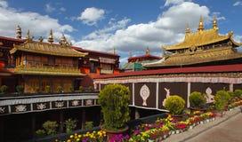 Templo de Jokhang imagem de stock royalty free