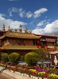 Templo de Jokhang imagem de stock