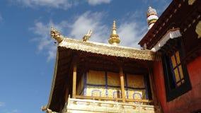 Templo de Jokhang, Lhasa Foto de Stock Royalty Free