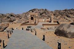 Templo de Kalabsha-Asuán Foto de archivo libre de regalías